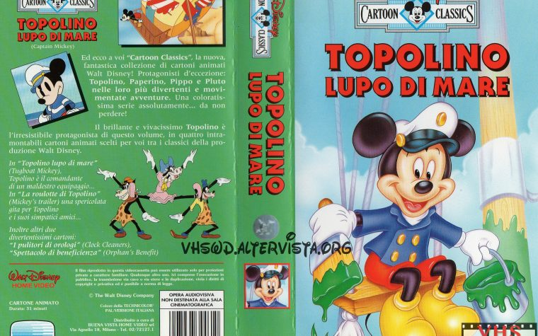 Cartoon Classics – Topolino lupo di mare
