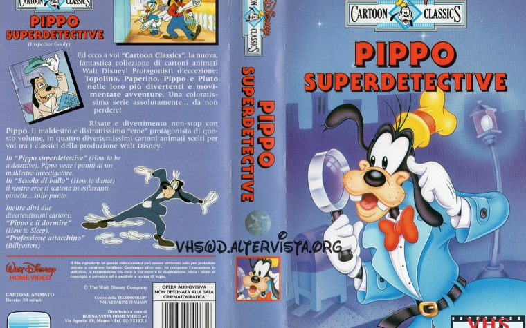 Cartoon Classics – Pippo superdetective