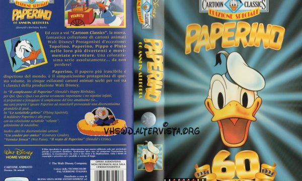 Cartoon Classics – Paperino 60 anni in allegria