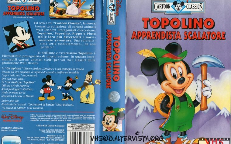 Cartoon Classics – Topolino apprendista scalatore