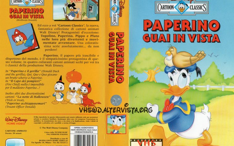 Cartoon Classics – Paperino guai in vista