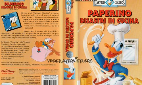 Cartoon Classics – Paperino disastri in cucina