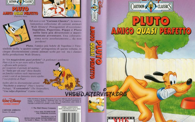 Cartoon Classics – Pluto amico quasi perfetto