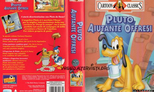 Cartoon Classics – Pluto aiutante offresi