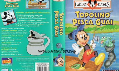 Cartoon Classics – Topolino pesca guai