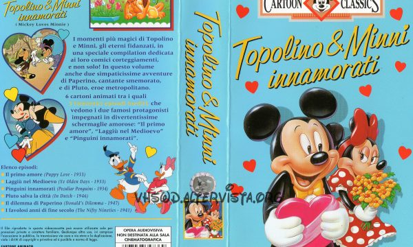 Cartoon Classics – Topolino e Minni innamorati