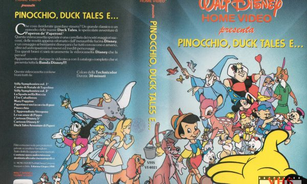Walt Disney Home Video presenta Pinocchio, Duck Tales e…